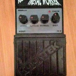 Процессоры и педали эффектов - Педаль эффектов для электрогитар rockter metal worker, 0