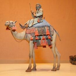Сборные модели - 1/16 миниатюра модель верблюда с сержантом Арабского Легиона Верлинден 1050, 0