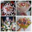 букет из конфет по цене 1200₽ - Подарочные наборы, фото 9