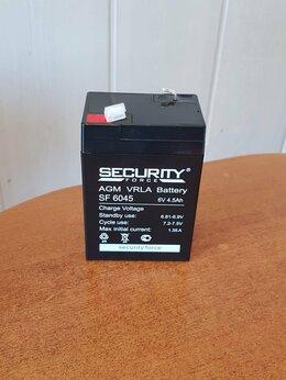 Аккумуляторы и зарядные устройства - Аккумулятор 6V 4.5Ah SECURITY FORCE…, 0