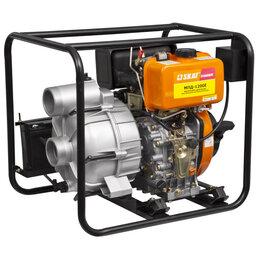 Мотопомпы - Мотопомпа дизельная для грязной воды 1200 л/мин. СКАТ МПД-1200Е, 0