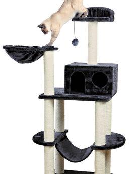 Когтеточки и комплексы  - Домик-когтеточка для кошки Tarragona Trixie, 0