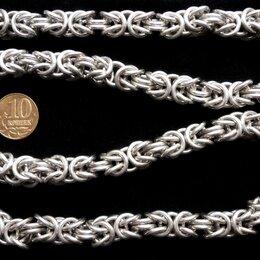 Цепи - Серебряная цепь Кардинал.Замок коробка.Вес 173 грамма,длина 57 см, 0