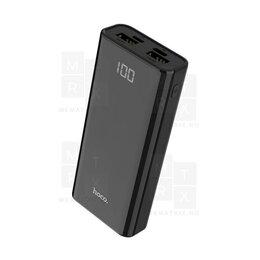 Универсальные внешние аккумуляторы - Внешний Аккумулятор (Power Bank) Hoco J45 10000 mAh (5,0V - 2A, 2USB, LCD) Черны, 0