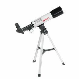 Телескопы - Телескоп Veber 360/50 рефрактор в кейсе, 0