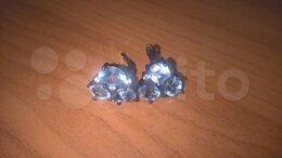 Серьги - серебряные серьги, 0