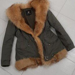 Куртки - Парка с натуральным мехом , 0
