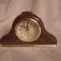 Часы настольные и каминные - Часы-будильник кварц на ходу, 0