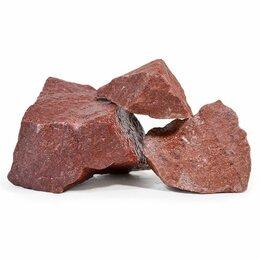 Камни для печей - Малиновый кварцит для бани и сауны колотый…, 0