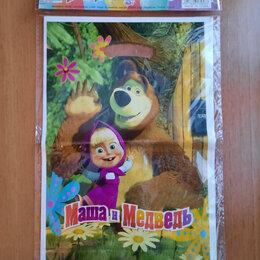 Подарочная упаковка - подарочные пакеты Маша и медведь, 0