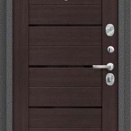 """Входные двери - Дверь для квартиры """"SП104.22"""" Wenge Veralinga. Быстрая доставка., 0"""