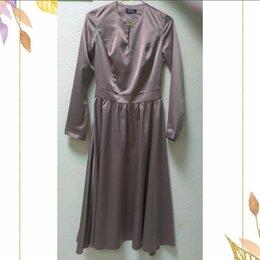 Платья - Новое платье из атласной ткани, 0