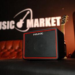 Гитарное усиление - Портативный комбоусилитель цифровой 3Вт Nux Cherub Mighty-Light-BT, 0