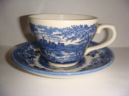 Кружки, блюдца и пары - Чашки с блюдцами Англия Churchill 4 шт винтаж…, 0