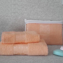 """Полотенца - Комплект из 2х махровых полотенец """"Узор"""", 0"""