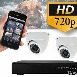 Готовые комплекты - Комплект видеонаблюдения на 2 камеры со звуком, 0