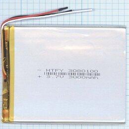 Аккумуляторы - Аккумулятор Li-Pol (батарея) 3*80*100мм 3pin…, 0