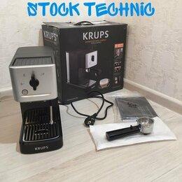 Кофеварки и кофемашины - Кофеварка Krups XP 344010, 0