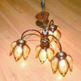 Люстры и потолочные светильники - Люстра подвесная с 4 плафонами, 0