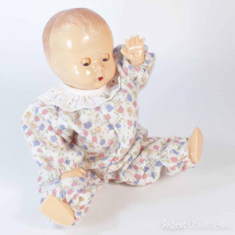 Винтажная  куколка, пупсик, 15 см, колкий пластик, Европа по цене 1100₽ - Другое, фото 0