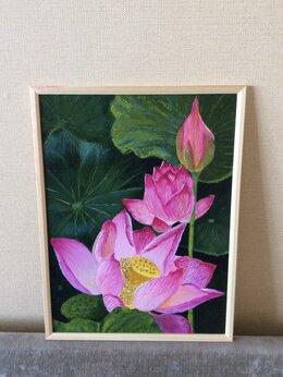 Картины, постеры, гобелены, панно - Цветы Лотоса картина, 0
