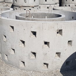 Железобетонные изделия - Кольцо бетонное КС 15.9 Еврокольцо для септика, 0