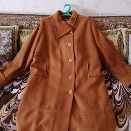 Пальто - Пальто женское кашемир 58 размер новое!, 0