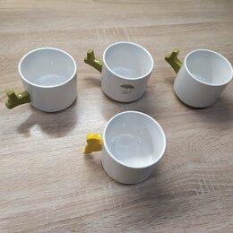 Кружки, блюдца и пары - Чашки (древовидные) новые, 0