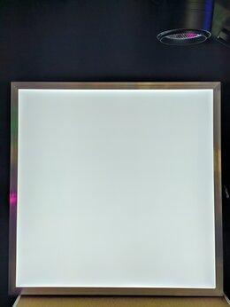Настенно-потолочные светильники - Светодиодная ультратонкая панель 36вт, 0