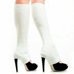 Колготки и носки - Уютные гетры с прорезью, 0