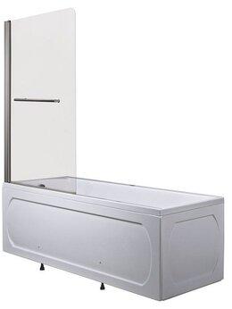 Шторы и карнизы - Шторка для ванны 1Marka P-02 82х150, 0
