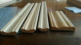 Плинтусы и пороги - Плинтус напольный деревянный, 0