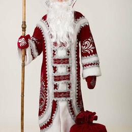 Карнавальные и театральные костюмы - Карнавальный костюм для взрослых Дед Мороз Купеческий бордо, 0