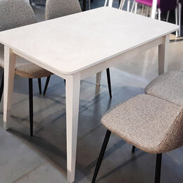 Столы и столики - Раздвижной стол ЛОФТ керамопластик, 0