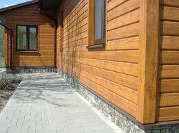 Фасадные панели - Фасадные панели,Сайдинг под брус,бревно.ДПК…, 0