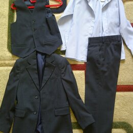 Комплекты и форма - Костюм тройка + рубашка 128, 0