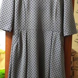 Платья - Платье 50 %вискоза. Есть пояс. Боковые внутренние карманы. , 0