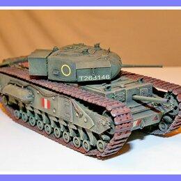Сборные модели - 1/35 Модель танка Мк 4 Черчилль 1 две пушки, 0