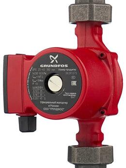 Насосы и комплектующие - Циркуляционный насос Grundfos UPS 25-40 180 (45…, 0