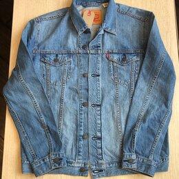 Куртки - Куртка джинсовая Levis L, XXL новая, 0