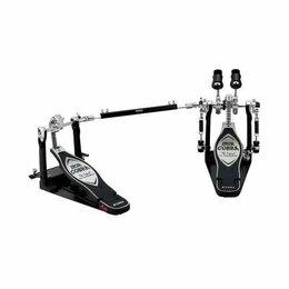 Аксессуары и комплектующие - Двойная педаль для барабана TAMA HP900PWN IRON COBRA DRUM PEDAL W/CASE, 0
