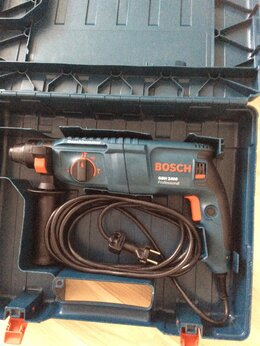 Перфораторы - Перфоратор Bosch GBH 2400 б/у очень мало, 0