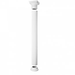 Камни для печей - K1152 База колонны, 0