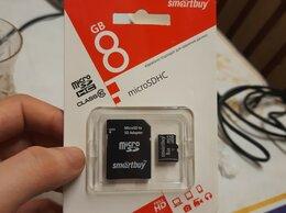 Карты памяти - Карта памяти MicroSD 8Gb с адаптером класс 10 , 0