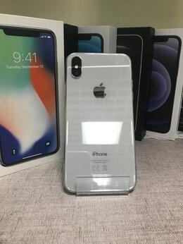 Мобильные телефоны - iPhone X Silver 64gb б/у Ростест, 0