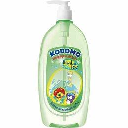 """Для душа - Ср-во для мытья Шампунь от  до пяточек"""" детский Кодомо 400мл курок 1/24, 0"""