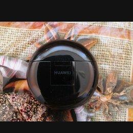 Наушники и Bluetooth-гарнитуры - Наушники True Wireless Huawei Freebuds 3 Carbon BI и 2 чехла в подарок. , 0