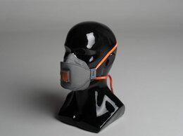 Средства индивидуальной защиты - Респиратор полумаска трехпанельная WALL AIR…, 0