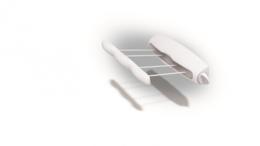 Сушилки для белья - Сушилка для белья настенная 14м 4 веревки Rotor 4, 0
