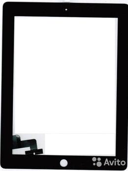 Дисплеи и тачскрины - Тачскрин Ipad 2 с кнопкой Home и наклейками,…, 0
